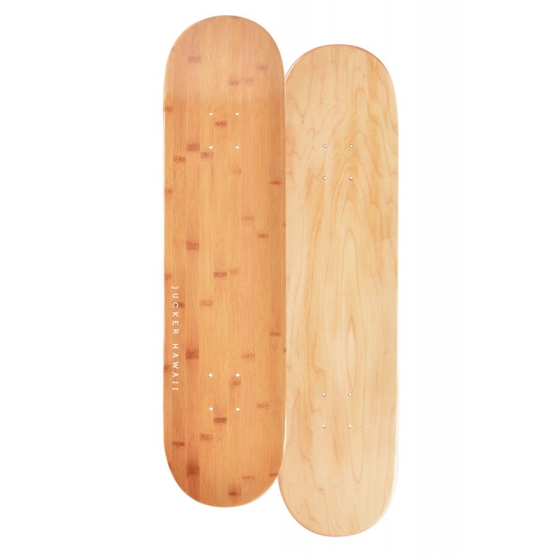 JUCKER-HAWAII-Skateboard-Deck-BAMBOO-8-0