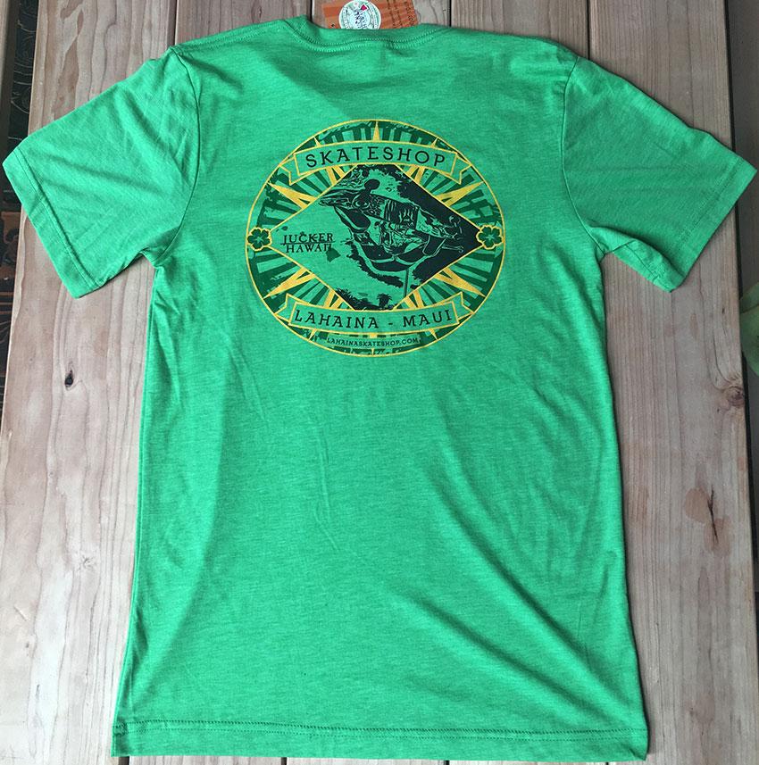 Lahaina-Skate-Shop-T-Shirt-green