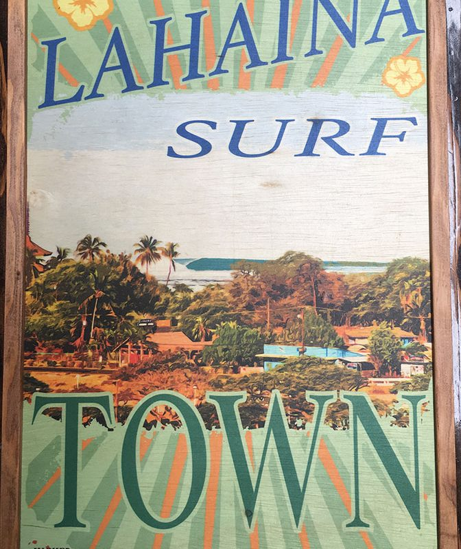 Lahaina-Surf-Town
